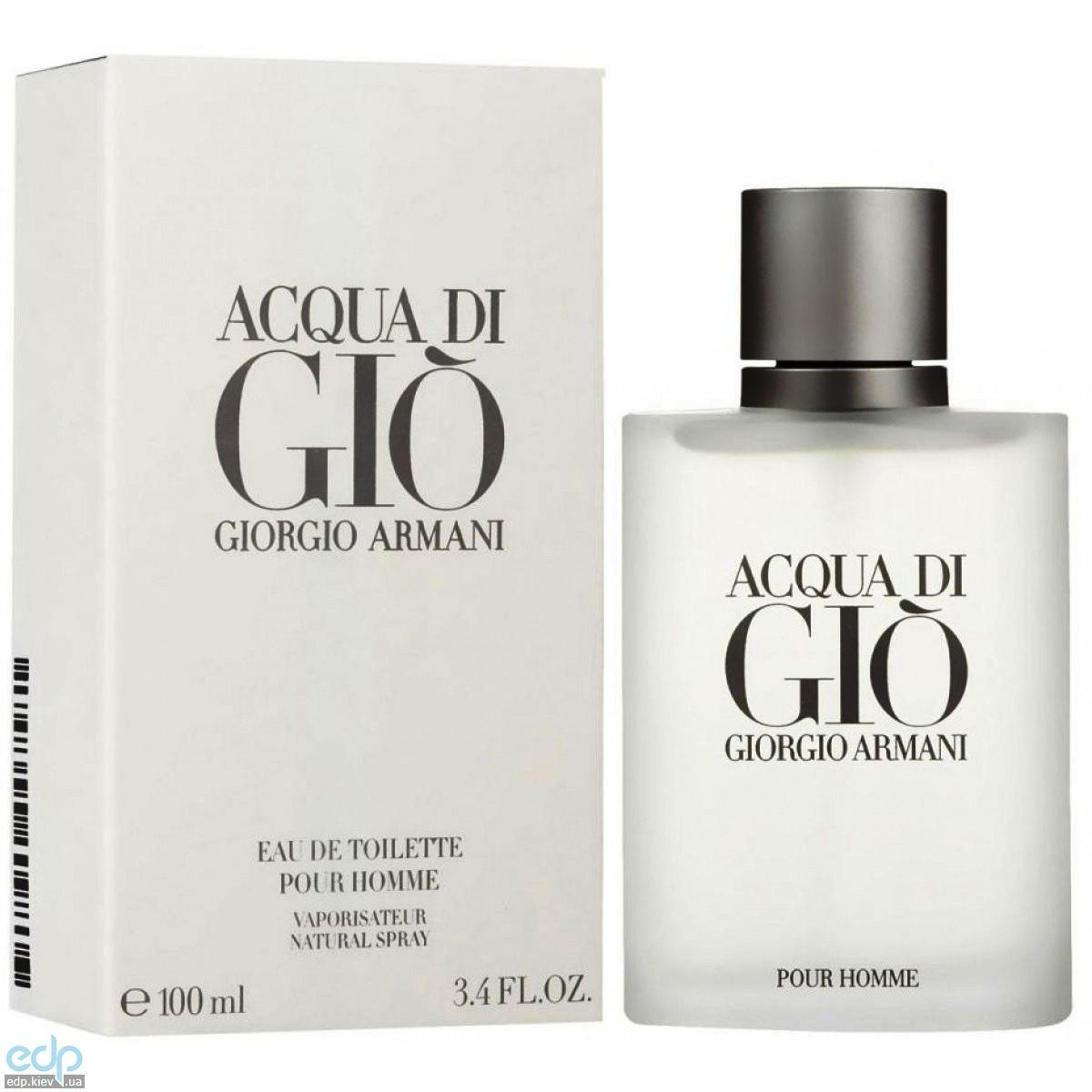 Giorgio Armani Acqua di Gio pour homme -  Набор (туалетная вода 50 + гель для душа 50 + бальзам после бритья 50)