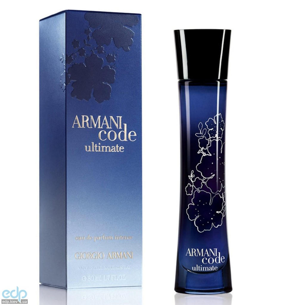 Giorgio Armani Code Ultimate Femme - парфюмированная вода - 50 ml TESTER