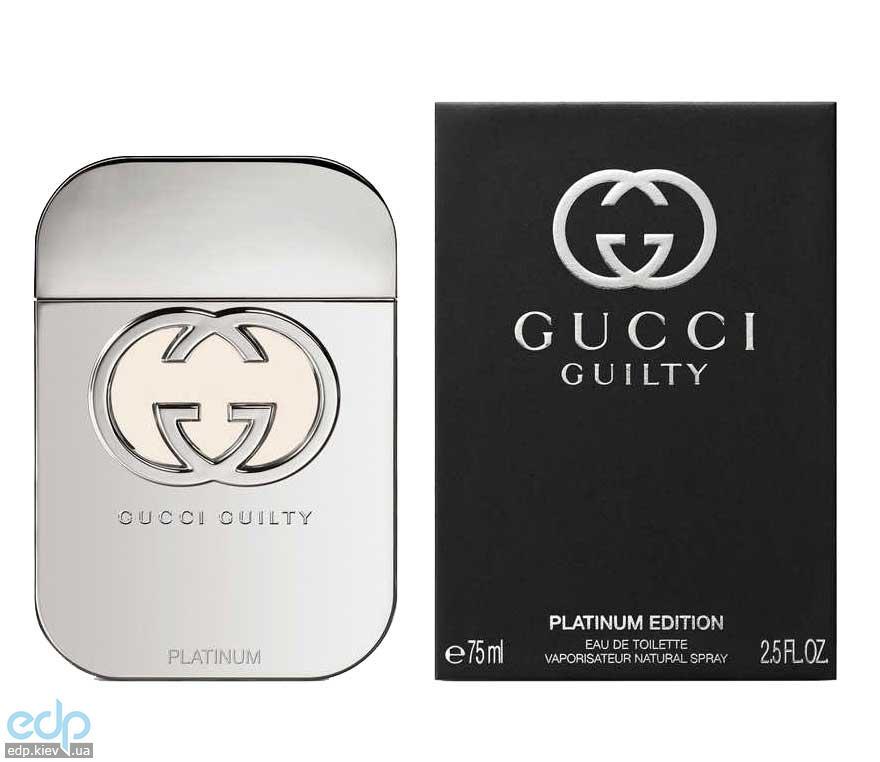 Gucci Guilty Pour Homme Platinum - туалетная вода - 90 ml