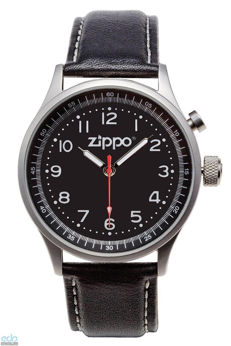 Zippo - Часы кварцевые Casual Черный (45022)