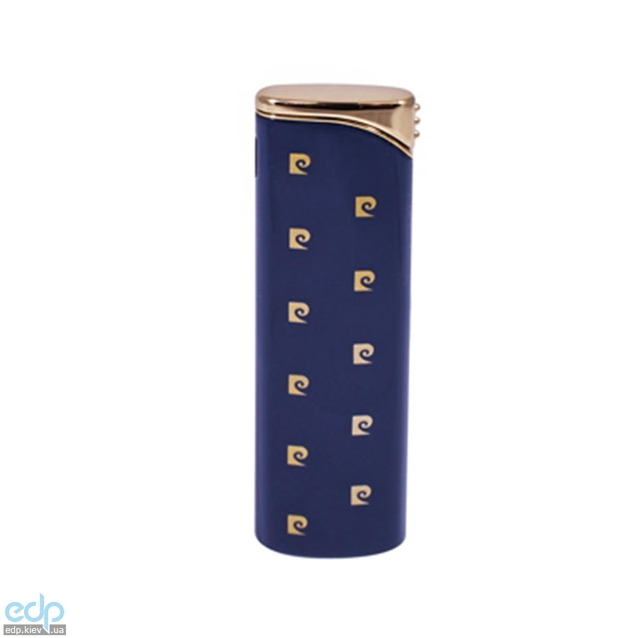 Pierre Cardin - Зажигалка газовая пьезо синий лак (арт. MF-55-02)