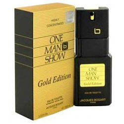 Bogart One Man Show Gold Edition - туалетная вода - 100 ml TESTER