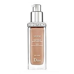 Крем тональный Christian Dior -  Diorskin Nude Skin-Glowing Make-up SPF15 №030 Medium Beige