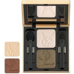 Тени для век Yves Saint Laurent -  Ombres Duolumieres №13 Golden Sand/Brown Earth
