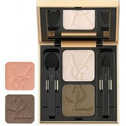 Тени для век Yves Saint Laurent -  Ombres Duolumieres №23 Pearly Peach/Mink Brown