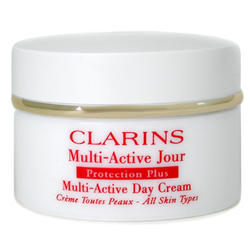 Clarins -  Face Care Protection Plus Multi-Active Day Cream ( Dry Skin ) -  50 ml