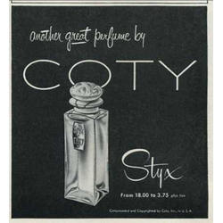 Coty Styx For Women - духи - 7.5 ml (Vintage)