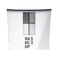 Make up Factory Набор Make Up Factory - Eye Color №02 Deep Anthracite/Lunar Grey/Thick White/Dusty Grey