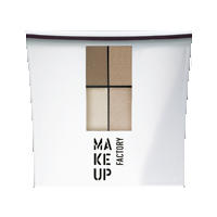 Make up Factory Набор Make Up Factory - Eye Color №14 Smokey Bronze/Greek Bronze/Pearl Bush/Mild Salmon