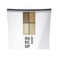 Make up Factory Набор Make Up Factory - Eye Color №18 Summer Tan/Calid Orange/Desert Yellow/Liquid Gold
