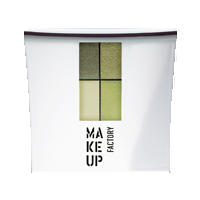 Make up Factory Набор Make Up Factory - Eye Color №23 Alpine Grey/Olive Green/Soft Pear/Shinny Pistachio