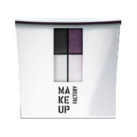 Make up Factory Набор Make Up Factory - Eye Color №54 Black Velvet/Smokey Violet/Mineral Grey/Pastel Lilac