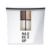 Make up Factory Набор Make Up Factory - Eye Color №87 Copper Cocoa/Golden Copper/Vanilla Cream/Peachy Sand