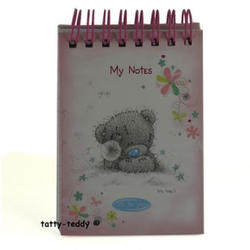 Блокнот MTY (Me To You) -  маленький на спирали (розовый) (арт. G01S0294)