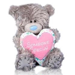 Игрушка плюшевый мишка MTY (Me To You) -  с сердцем Someone Special 15 см (арт. G01W1043)