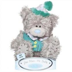 Игрушка плюшевый мишка MTY (Me To You) -  в костюме клоуна You Make Me Smile 15 см (арт. G01W1053)