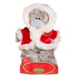 Игрушка плюшевый медвежонок MTY (Me To You) -  в костюме Деда Мороза 15 см (арт. G01W1250)