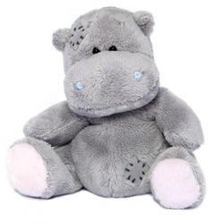 Друзья мишек Teddy Blue Nose -  плюшевый бегемот 10 см (арт. G73W0004)