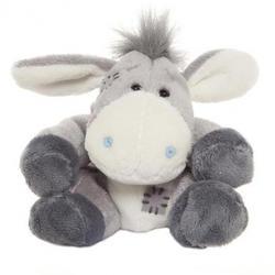 Друзья мишек Teddy Blue Nose -  плюшевый ослик 10 см (арт. G73W0013)