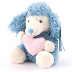 Друзья мишек Teddy Blue Nose -  плюшевый пудель 10 см (арт. G73W0043)