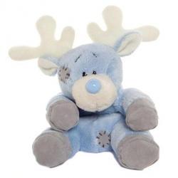 Друзья мишек Teddy Blue Nose -  плюшевый полярный олень 10 см (арт. G73W0046)