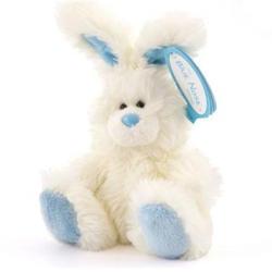 Друзья мишек Teddy Blue Nose -  плюшевый кролик 10 см (арт. G73W0057)