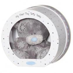 Игрушка плюшевый мишка MTY (Me To You) -  в круглой коробке My 1st Tiny Tatty Teddy 20 см (арт. G92W0001)