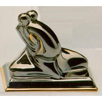 Статуэтки Galos (Испания) - Эмбрасе - 9 x 11 см. (фарфор, покрытие платиной, золотом)