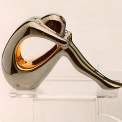 Статуэтки Galos (Испания) - Мини Криптон - 11 x 17 см. (фарфор, покрытие платиной, золотом)
