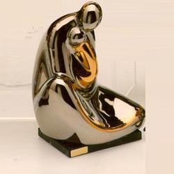 Статуэтки Galos (Испания) - Мини Омега - 15 x 15 см. (фарфор, покрытие платиной, золотом)