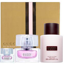 Gucci Eau de Parfum 2 -  Набор (парфюмированная вода 50 + лосьон-молочко для тела 50 + гель для душа 50)