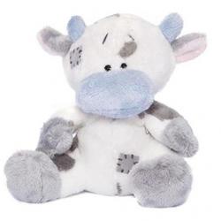 Друзья мишек Teddy Blue Nose -  плюшевый бычок 10 см (арт. GYW1335)