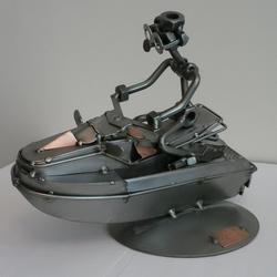 Статуэтки Hinz and Kunst (Германия) - Водный мотоцикл - 18 x 21 см. (металл)