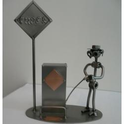 Статуэтки Hinz and Kunst (Германия) - Бензоколонка - 25 x 20 см. (металл)