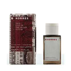 Korres Iris Lily of the Valey Cotton For Women - туалетная вода - 50 ml (Vintage)