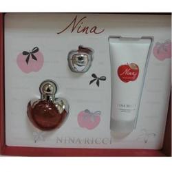 Nina Ricci Nina -  Набор (туалетная вода 50 + лосьон-молочко для тела 100 + блеск для губ 4g)