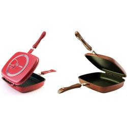Granchio -  Двойная сковорода-гриль Granchio Grill 26х21 см (арт. 88255)