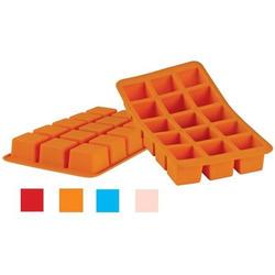 Granchio -  Силиконовая форма для льда Granchio Silico Flex  - размер 20х11 см на 15 кубиков  (арт. 88412)