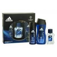 Adidas UEFA Champions League - Набор (туалетная вода 100 ml + дезодорант 150 ml + гель для душа 250 ml)