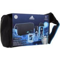 Adidas UEFA Champions League - Набор (туалетная вода 100 ml + дезодорант 150 ml + гель для душа 250 ml + косметичка)