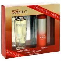 Antonio Banderas Diavolo Donna - Набор (туалетная вода 100 ml + дезодорант 150 ml)
