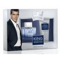 Antonio Banderas King of Seduction - Набор (Туалетная вода 50 ml + бальзам после бритья 100 ml)