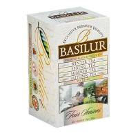Basilur - Чай зеленый Ассорти Коллекция Четыре сезона - картонная коробка - 20х2g (70398-00)