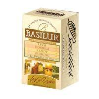 Basilur - Чай черный Ассорти пакетированный Коллекция Лист Цейлона - в пакетиках - 20х2g (70273-00)