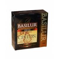 Basilur - Чай черный Особый Коллекция Остров Цейлон - картонная коробка - 100х2g (71008-00)