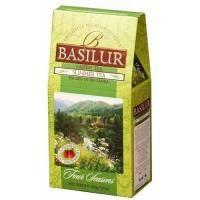 Basilur - Чай зеленый Четыре сезона Летний - картонная коробка - 100g (4792252915497)