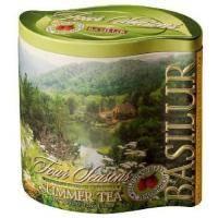 Basilur - Чай зеленый Летний Коллекция Четыре сезона - жестяная банка - 125g (71207-00)