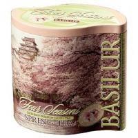Basilur - Чай зеленый Весенний Коллекция Четыре сезона - жестяная банка - 125g (70257-00)
