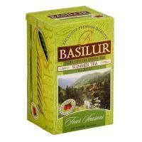 Basilur - Чай зеленый Летний Коллекция Четыре сезона - картонная коробка - 20х1.2g (70393-00)