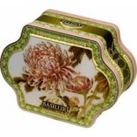 Basilur - Чай зеленый Очаровательная коллекция Хризантемы - жестяная банка - 100g (4792252925533)